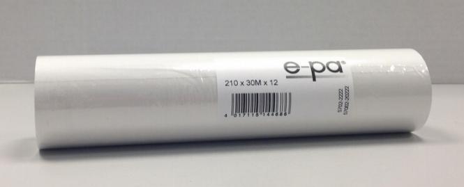 6 Faxrollen 210x38x12, 15 m, ohne Bisphenol-A (BPA)